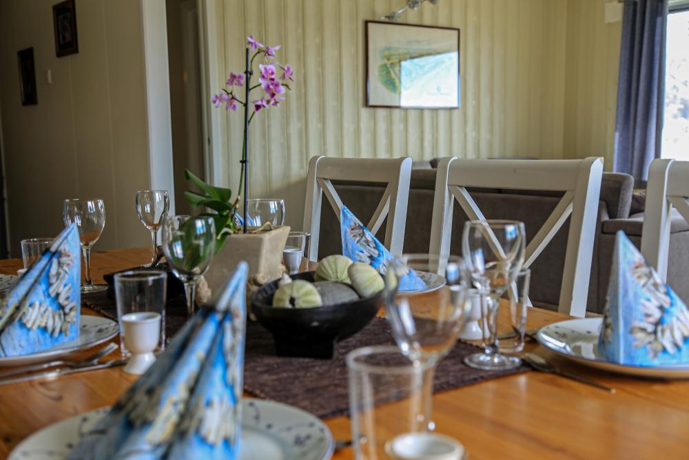 Spisebord Per Arne huset, feriehus I Nordreisa / Lyngen