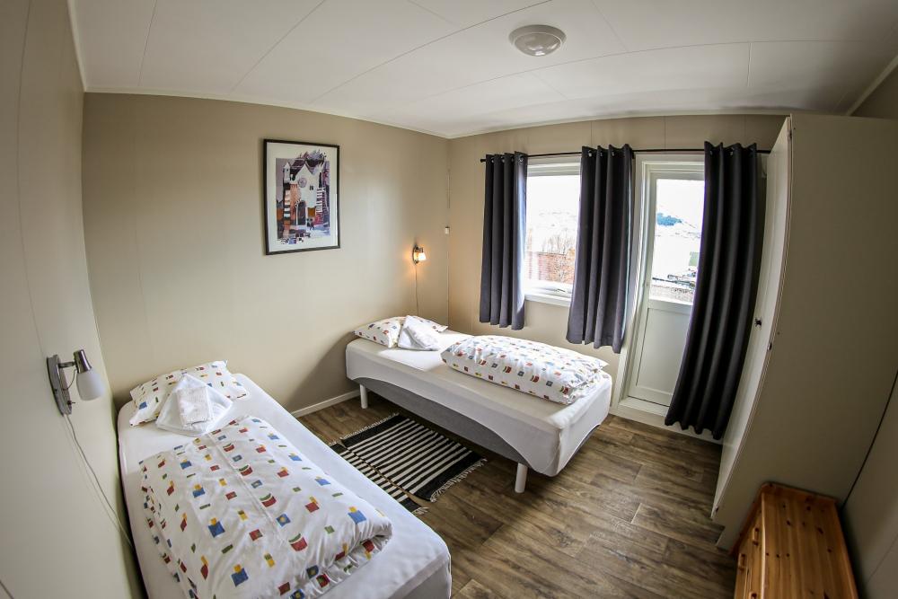 Soverom 3 i Per Arne huset, feriehus i Nordreisa / Lyngen